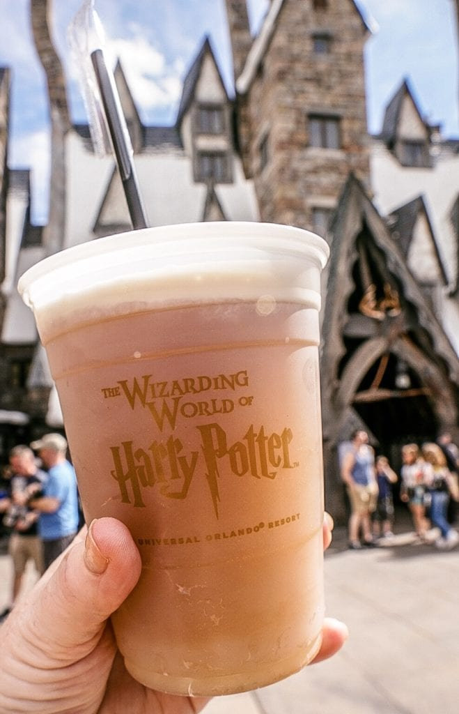 butterbeer wizarding world of harry potter
