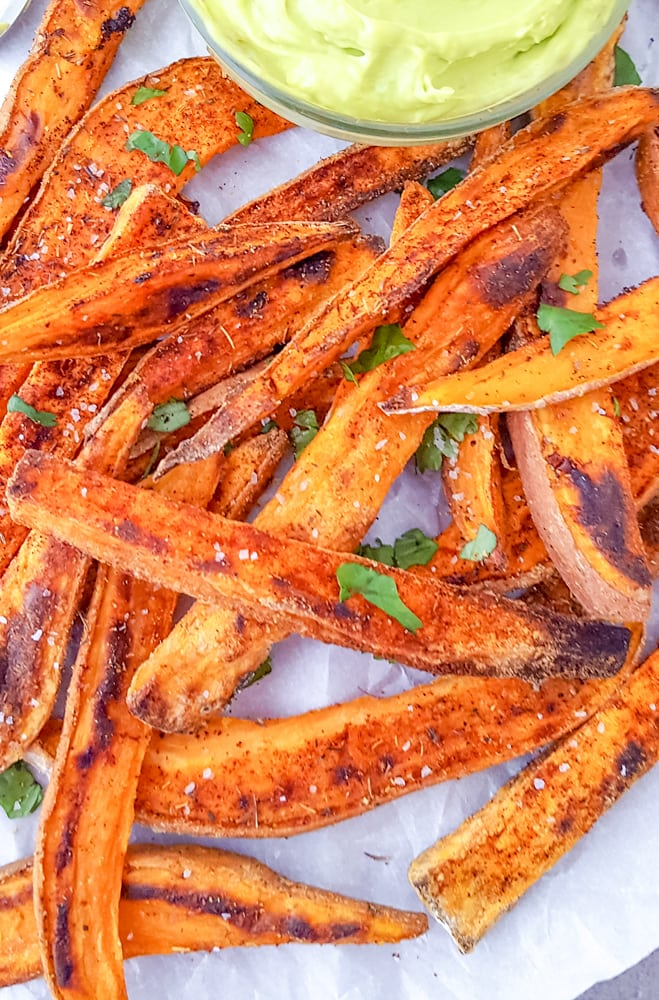 sweet potato wedges oven
