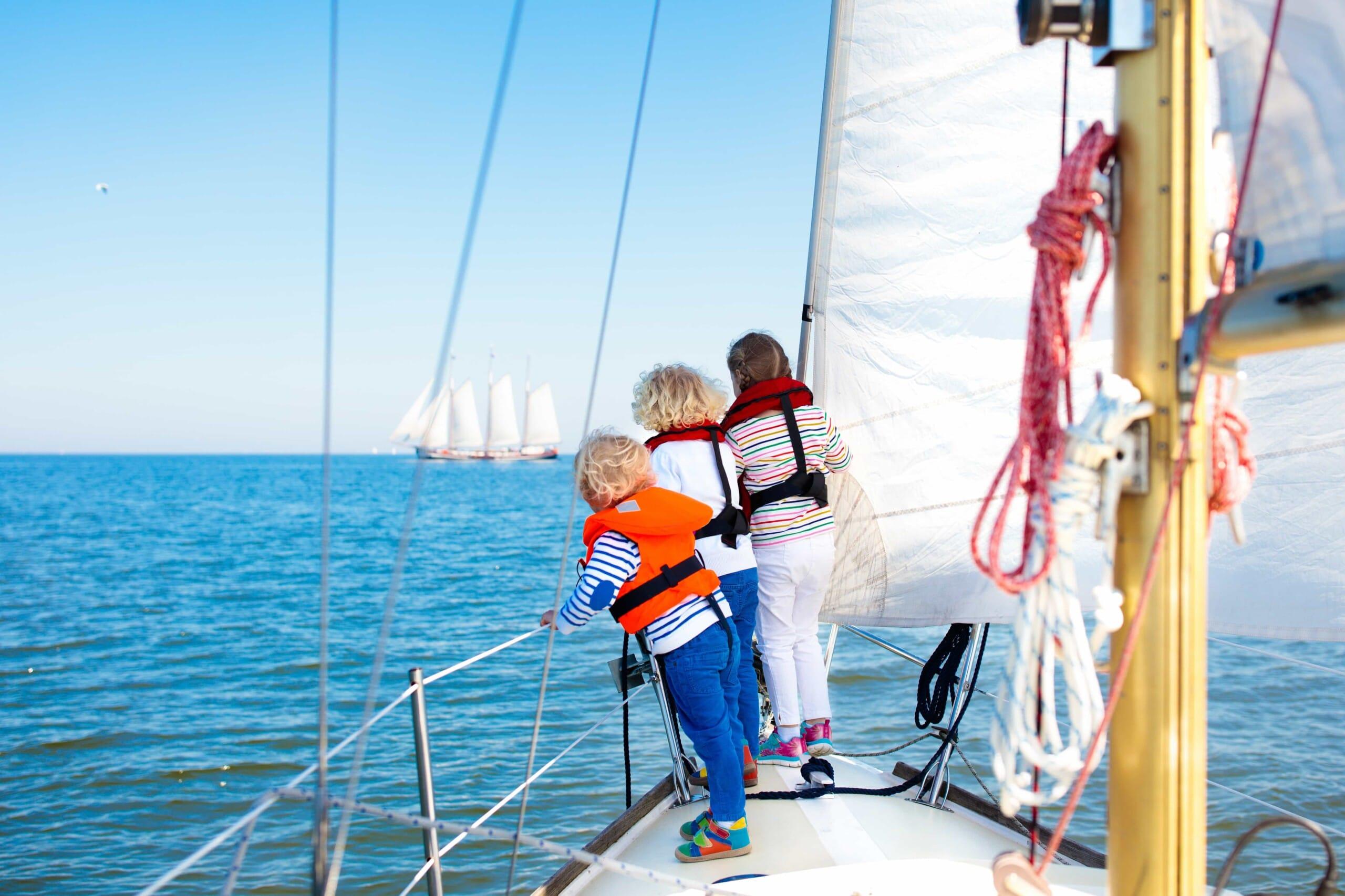 family sailing vacation