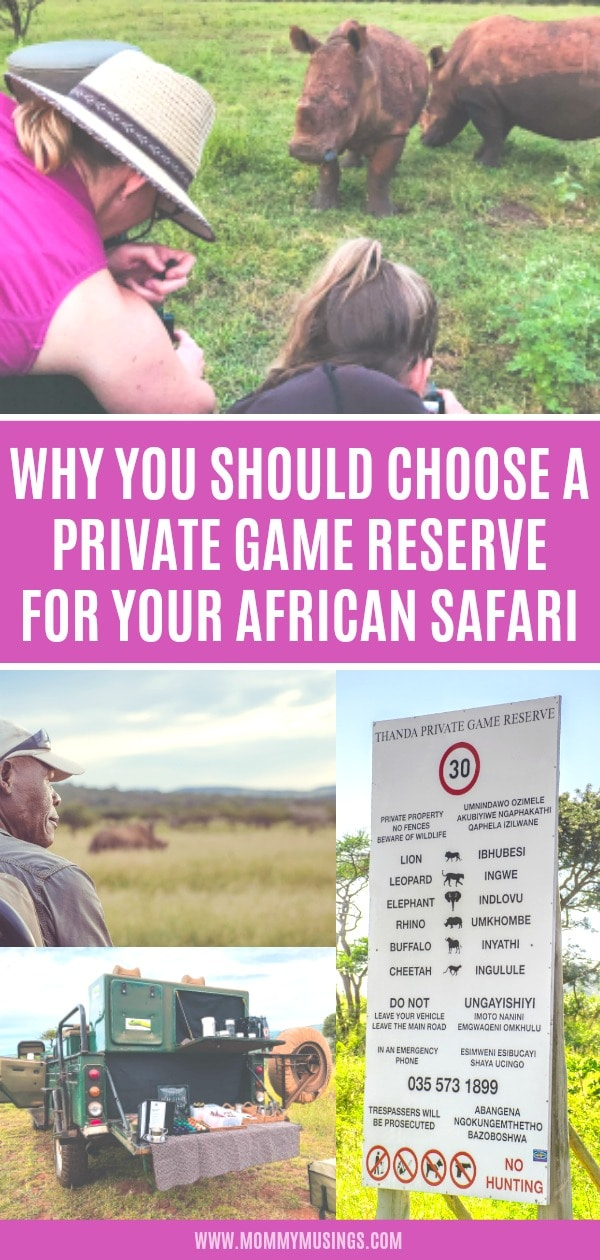 Private Game Reseve vs National Park - Which is Better for African Safari