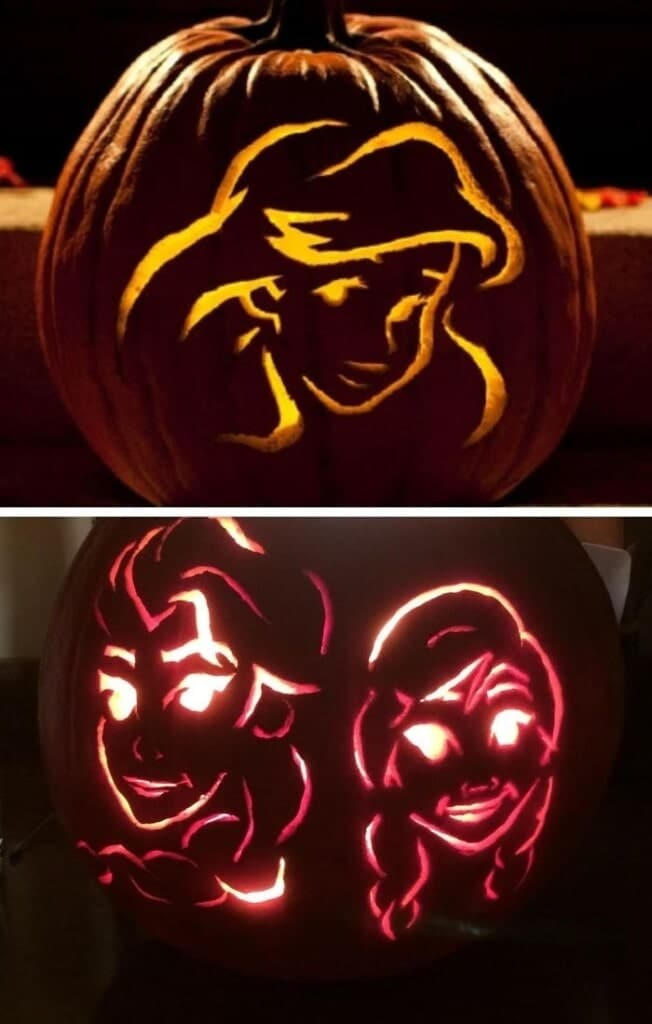 100 Disney Pumpkin Stencils And Disney Pumpkin Carving Templates
