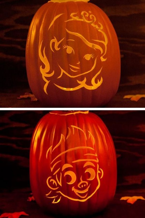 100 Disney Pumpkin Stencils And Disney Pumpkin Carving Templates