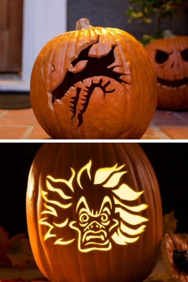 Disney villian pumpkins