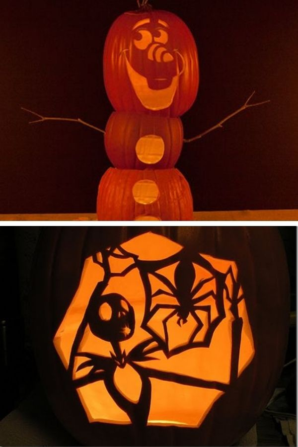 Disney movie pumpkins
