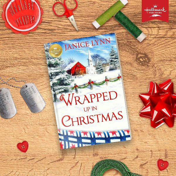 Wrapped Up in Christmas Hallmark Book
