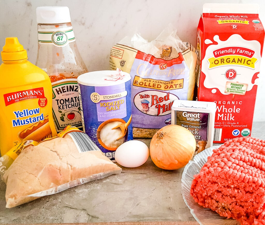 brown sugar meatloaf ingredients