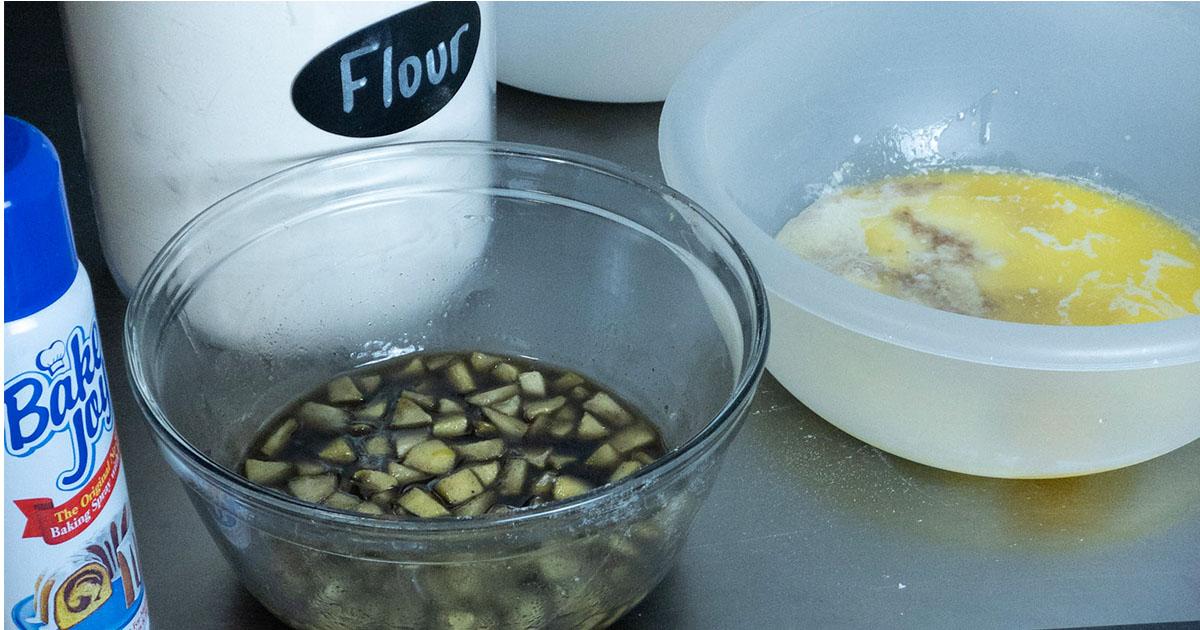 supplies to make apple doughnuts