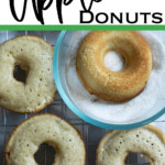 sugar topped donuts made with donuts