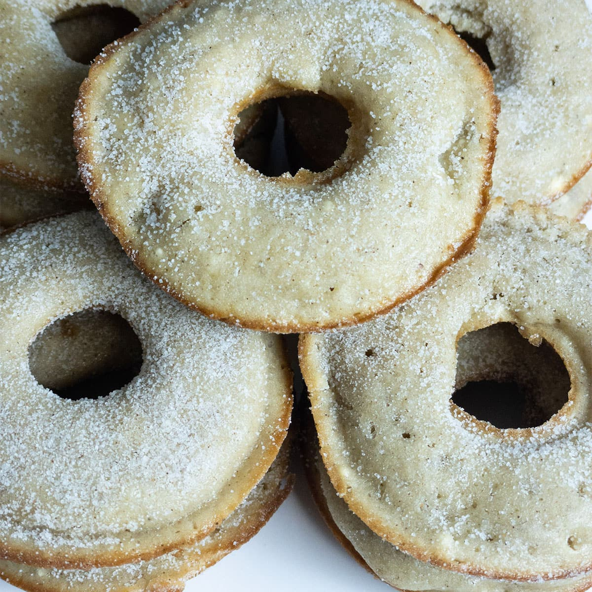 sugar dusted apple donut recipe