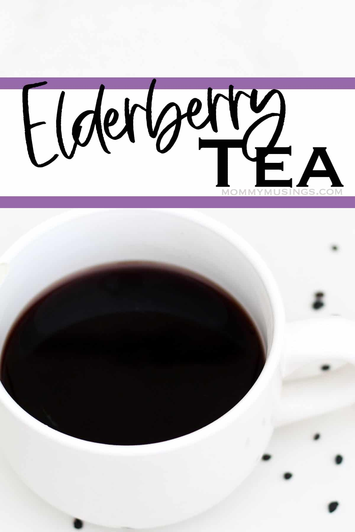 easy diy elderberry tea