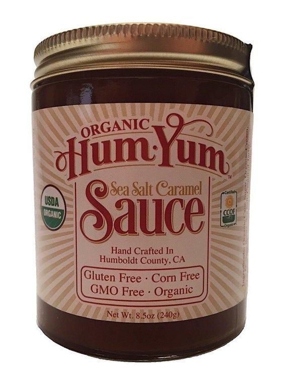 Organic Sea Salt Caramel Sauce | Etsy