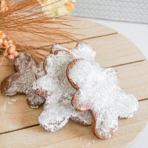 homemade gingerbread cookie recipe
