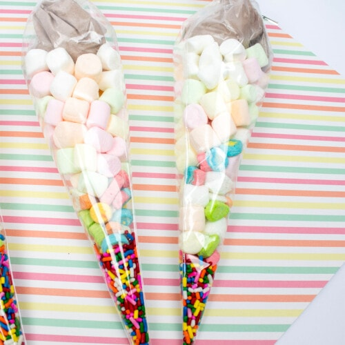 unicorn horn hot cocoa gifts