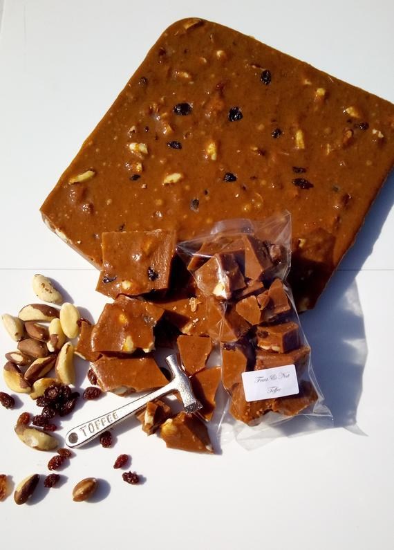 Fruit & Nut Toffee Delicious Handmade Old-Fashioned Toffee