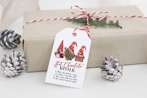 Printable Gnome Bomb Gift Tag