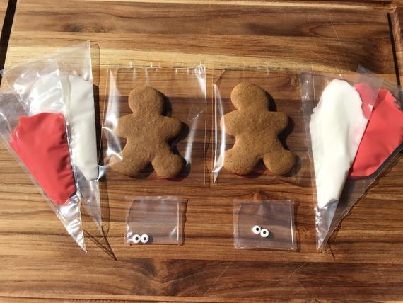 1 dozen Gingerbread Cookie Kits