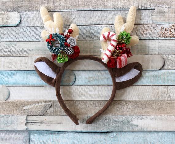 Reindeer Mickey Ears for Christmas