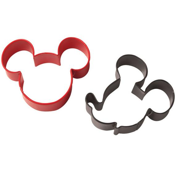 2 Piece Disney Mickey Mouse Clubhouse Cookie Cutter Set