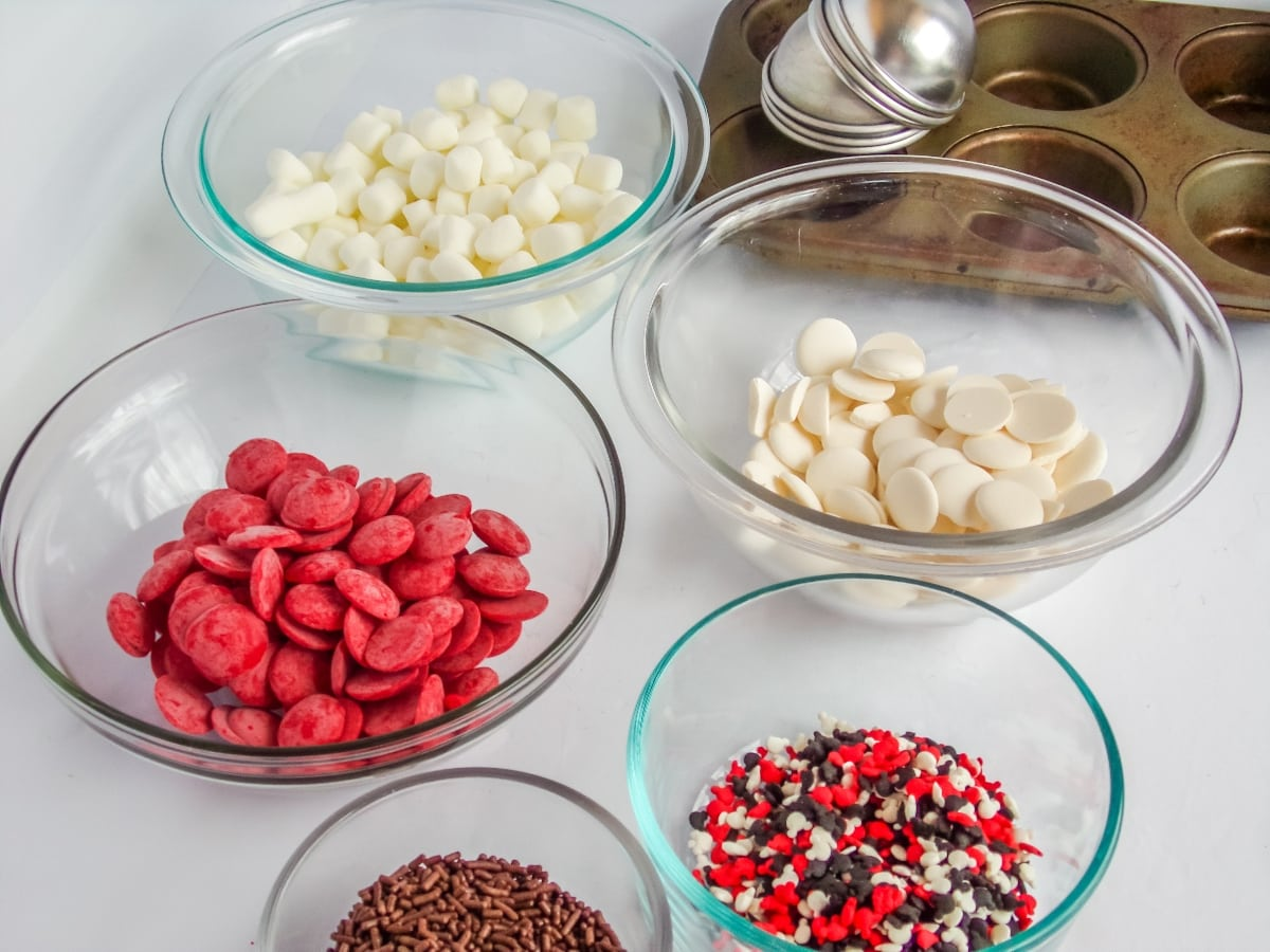 supplies to make mickey hot cocoa bombs