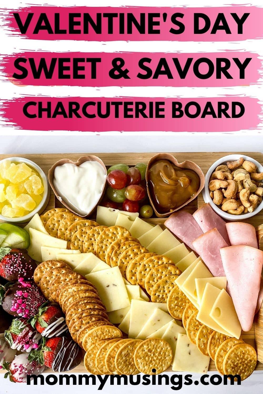 Savory charcuterie board