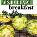 Egg muffins on cooling rack