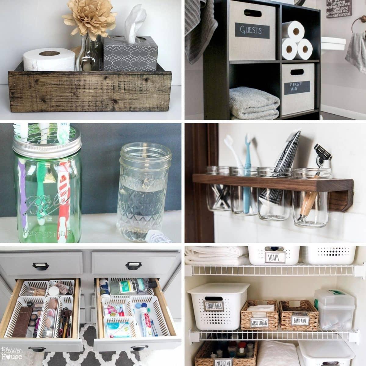 30 Tidy Diy Bathroom Organization Ideas, Bathroom Organising Ideas