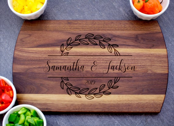 Personalized Cutting Board Custom Cheese Board Charcuterie | Etsy