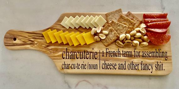 Charcuterie board/chese board/funny cheese board/funny   Etsy
