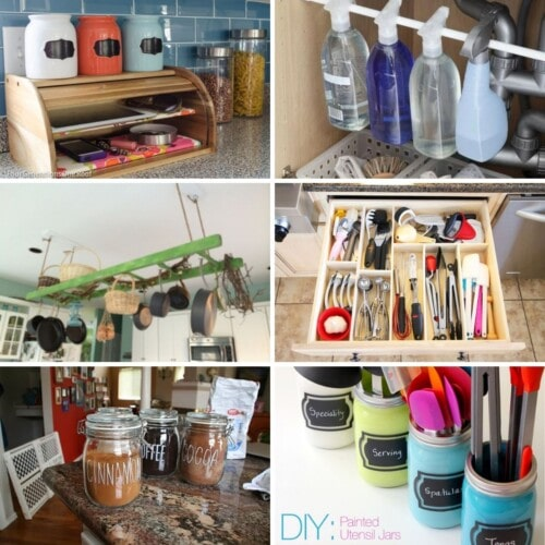 6 photos of kitchen organization ideas