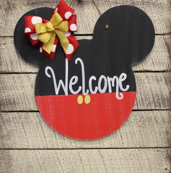 Disney Door Hanger