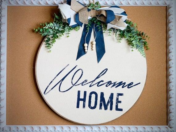Welcome Home Wreath