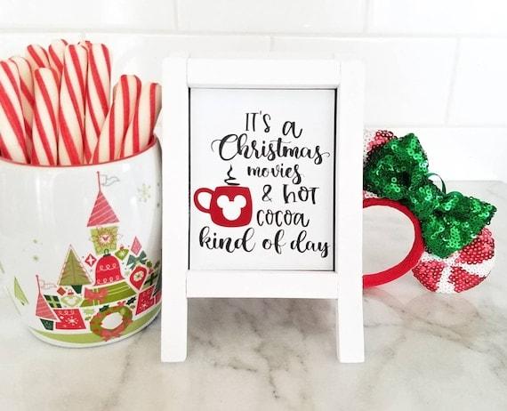 Mini Disney Sign Disney Christmas Sign