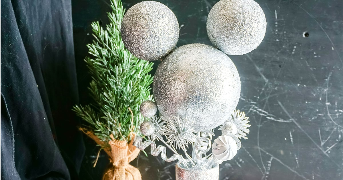 mickey silver topiary