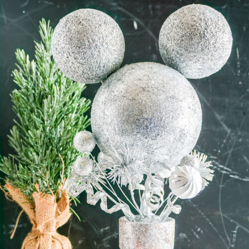 mickey mouse christmas topiary